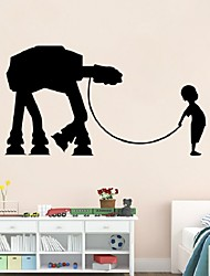 Star Wars wall stickers sitting room bedroom adornment stickers removable waterproof DIY Wall Mural