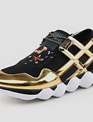 Zapatos Running Tul Negro Hombre