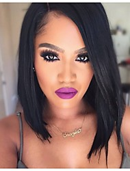 2016 Premier Newly Ciara Style Affordable Natural Looking Lace Front Wigs Side Part Long Bob Wigs For Black Women