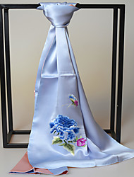 Women Silk Scarf , Vintage