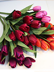 9 Heads Pure Love Tulips High Quality Simulation Floner DIY Flower Kit