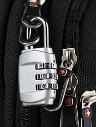 Luggage Lock Coded Lock Coded lock for Luggage AccessoryWhite Black Blue