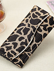 Women Cowhide Bi-fold Clutch / Evening Bag / Card & ID Holder / Coin Purse / Checkbook Wallet