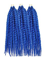 """Tranças torção Havana fibra sintética # 30 # 33 Azul Cinzento Erro Extensões de cabelo 12"""" 24 """" Tranças de cabelo"""