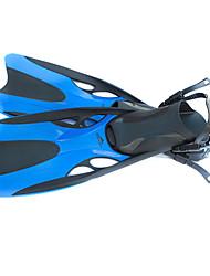 Palmes de plongée Plongée & Masque et tuba Natation Silikon Jaune Bleu