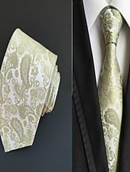 Gravata ( Verde , Poliéster ) Estampado