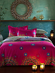 Bohemia Comforter Cover Set Queen Size Pure Cotton Fabric