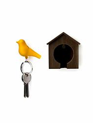 prendre anneau de clé de sifflet d'oiseau - couleur aléatoire