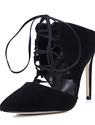 Women's Shoes Suede Stiletto Heel Heels / Slingback / Fashion Boots / Gladiator Heels Outdoor / Party & Evening /