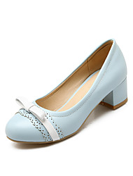 Women's Shoes Chunky Heel Heels Heels Casual Blue / Pink