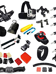 Accessories For GoPro,Smooth Frame Monopod Adhesive Mounts Straps Hand Straps Clip Cleaning Tools Balaclavas Mount/HolderWaterproof All