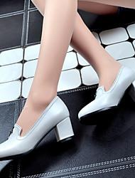 Women's Shoes Heel Heels Heels Outdoor / Office & Career / Casual White / Burgundy&1120-1