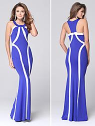 Women's Fashion Casual / Work / Beach / Party Halter Sleeveless Maxi Dress