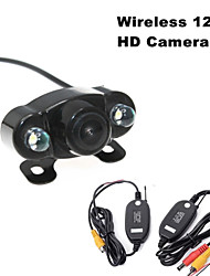 RenEPai® Wireless 120°HD 2LED Waterproof Night Vision Car Rear View Camera for 420 TV Lines NTSC / PAL 12V