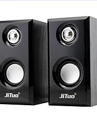 Jituo JT2803 Portable USB Powered 2.0 channel Stereo Multimedia Computer Speakers JT2803YX
