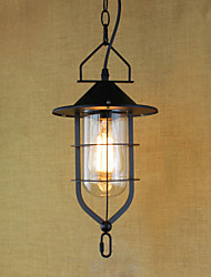 American Retro Rustic Pastoral Lighting Light Industrial Pendant Lamp