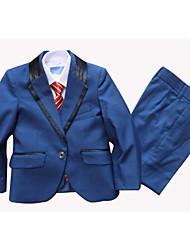 Ring-Träger Anzug-3-Blau-Polyester/Baumwollmischung