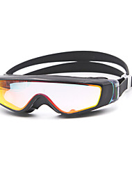 Swimming Goggles Unisex Anti-Fog Silica Gel PC White / Black Pink / Black / Blue / Dark Blue / Purple