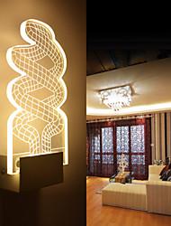 Creative 3D Effect Vivid Design Tangled Rope Image Wall Light 5W Aisle Light Bedside Light Bedroom Lighting Sconce