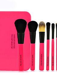 Make-up For You® 7pcs Makeup Brushes set Pony/Horse Hair  Limits bacteria Shadow/Blush/Lip Brush Makeup ToolCosmetic Brush kit