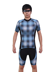 Cycling Jersey with Shorts Men's Short Sleeve BikeBreathable / Quick Dry / Anatomic Design / Ultraviolet Resistant / Moisture