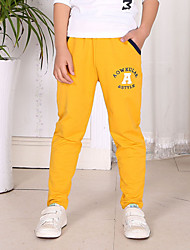 Boy's Cotton Super Fall /Spring Fashion   Letter  Leisure   Pants