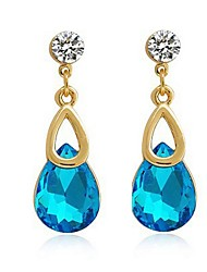 Drop Earrings Superior Workmanship Bridal Jewelry Amazing Waterdrop Earrrings for Women Wedding Accessory