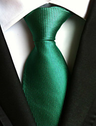 New Solid Green Classic Formal Men's Tie Necktie Wedding Party Gift TIE0009