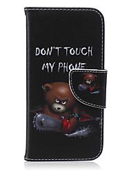 Pour Coque iPhone 6 / Coques iPhone 6 Plus Porte Carte / Portefeuille / Avec Support / Clapet / Motif Coque Coque Intégrale CoqueMot /
