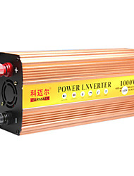 Carmaer Power Inverter 1000W 12V24V to 220V with USB