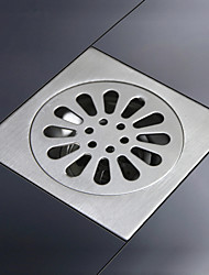 SUS304 Stainless Steel Shower Floor Drain Brushed Finish