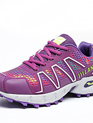 Women's Walking Shoes Leather / Tulle Pink / Purple