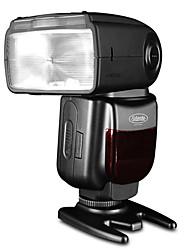 sidande GN58 df800 E-TTL de alta velocidad de sincronización del flash Speedlight canon 6d 7d 40d 50d 60d 450d 500d 600d 650d 700d 5D2 5D3