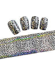 1PCS New 100x4cm  Mixed Nail Art Foils Priting Glitter Design  Nail Art Sticker polind DIY  Decorations  STZXK46-49