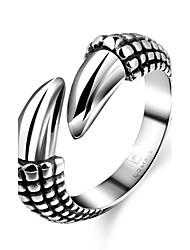 Ringe Ohne Stein Halloween / Alltag / Normal Schmuck Stahl Herren Ring 1 Stück,8 / 9 / 10 / 11 Schwarz