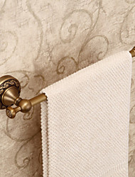 Brass Material Antique Style Wall Mounted Towel Bar