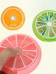 Viagem Porta-Comprimidos para Viagem Acessórios de Emergência para Viagens Portátil Plástico