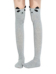 Womens Cute Animal Pattern Sock Stocking Knee Thigh High Socks Stockings