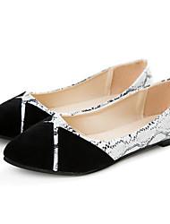 Women's Shoes Flat Heel Pointed Toe Flats Casual Black / Purple / Fuchsia