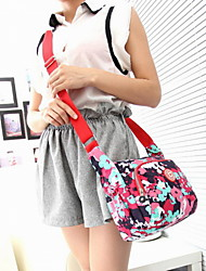 Fashion Women Polyester Print Sling Bag Shoulder Bag - Multi-color