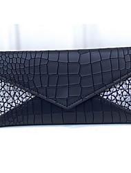 Women PU Tri-fold Wallet - Purple / Blue / Gray / Black / Fuchsia