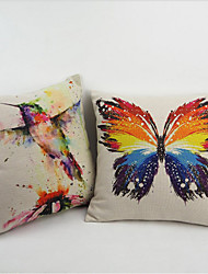 Classic Butterfly Throw anime Pillow Case Cover Brand Home Gift High Quality 45X45cm PillowCase