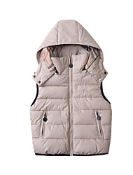 Boy's Cotton Down & Cotton Padded / Vest , Winter / Spring / Fall Sleeveless