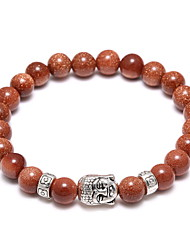 The Best-Selling New Buddha Head Hand String Bead Bracelet