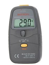 Mastech MS6501 Portable Digital Thermometer - Data Keeping - Contact Thermocouple Temperature