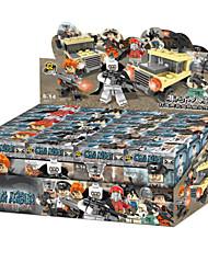 8piece/lot boys Building Blocks Sets Model Bricks Toys Resident Evil Style ABS Plastic Hobbies For kids