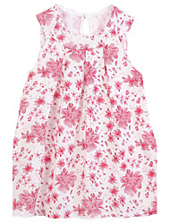 Girl Cotton Dress,Summer Sleeveless