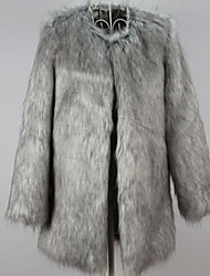Women Faux Fur Coat , Lined