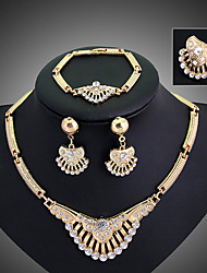 May  Polly  Selling diamond necklace bracelet ring earrings set