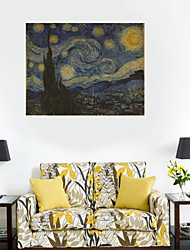 Wall Stickers Wall Decals Style Starry Night Poster PVC Wall Stickers